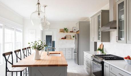 Kitchen Tour: A Clever Layout Tweak Transforms an Awkward Design