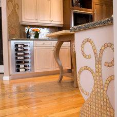 Eclectic Kitchen by Interior Kitchen & Bath Designer/ Monika INC