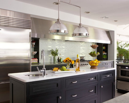 Kitchen Backsplash Lighting kitchen light and backsplash | houzz