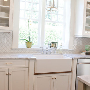 Traditional kitchen designs - Example of a classic kitchen design in Salt Lake City