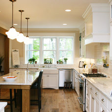 Farmhouse Kitchen by Green Apple Design