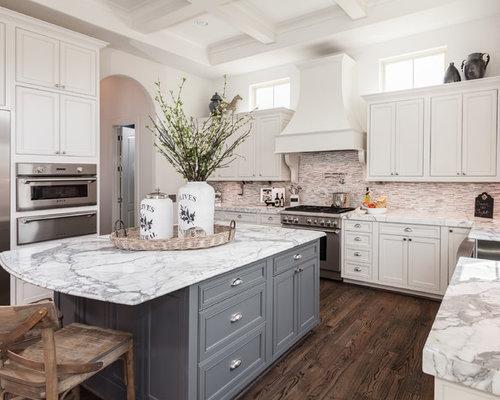 White Kitchen Cabinets Grey Island Winda Furniture