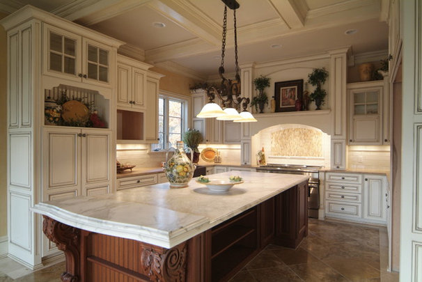 Traditional Kitchen by The Downs Group