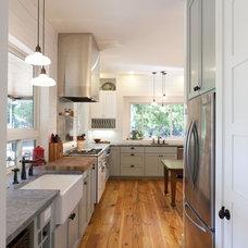 Farmhouse Kitchen by Risinger Homes