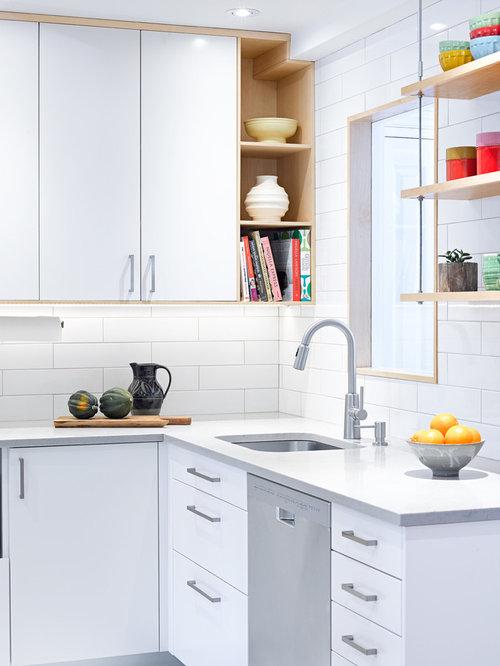 Petite cuisine americaine scandinave photos et idees for Idee deco cuisine avec console type scandinave