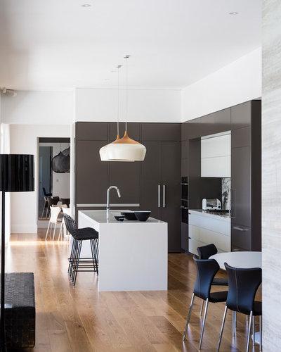 コンテンポラリー キッチン by D'Cruz Design Group Sydney Interior Designers