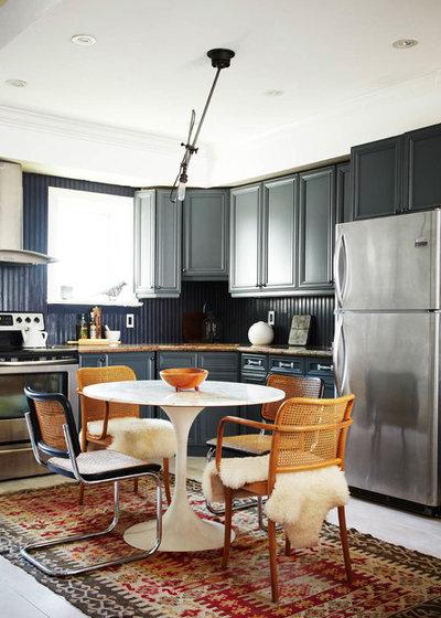 im esszimmer verschiedene st hle einsetzen 19 bunte beispiele. Black Bedroom Furniture Sets. Home Design Ideas