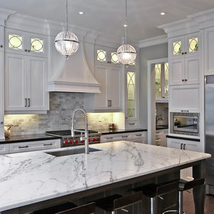 White And Gray Granite Houzz