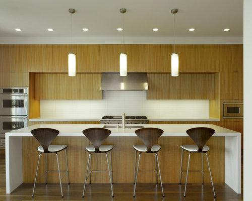 Thin horizontal backsplash houzz for Kitchen 919 reviews