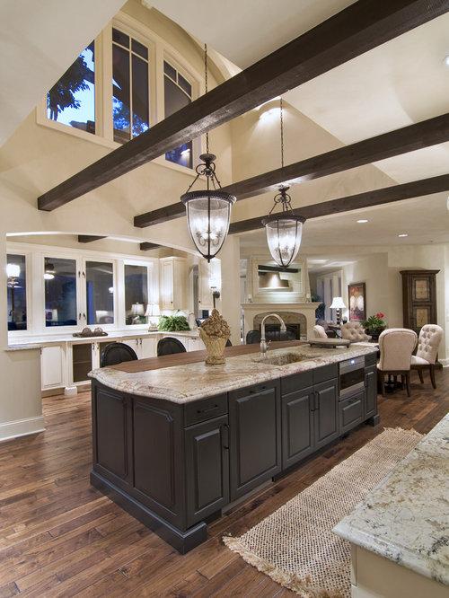 most popular granite colors houzz. Black Bedroom Furniture Sets. Home Design Ideas