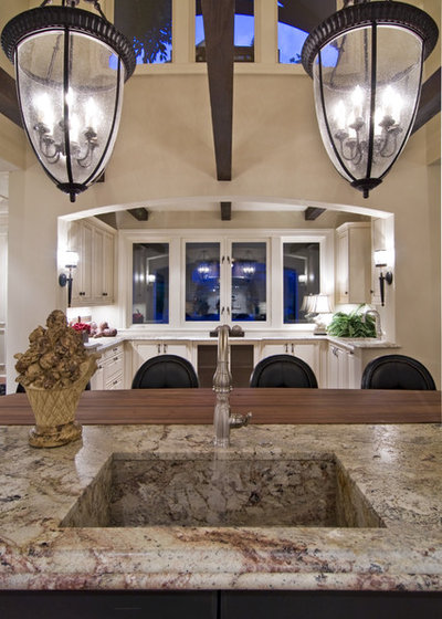 American Traditional Kitchen by Schrader & Companies