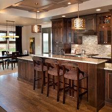 Contemporary Kitchen by Alysse Matthews interiors