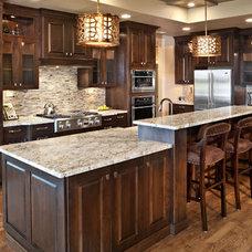 Eclectic Kitchen by Alysse Matthews interiors