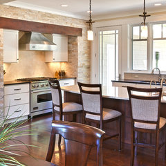 contemporary kitchen by MAC Custom Homes
