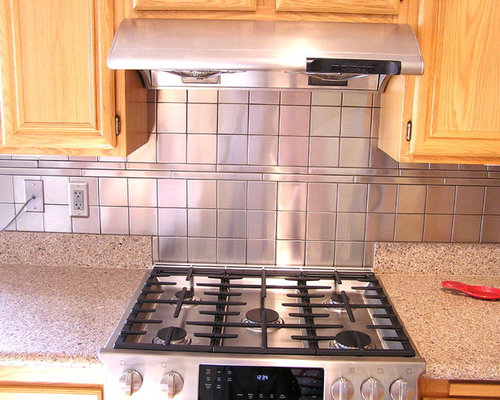 square tile backsplash