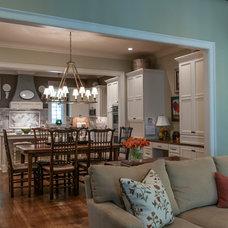 Traditional Dining Room by Anna Lattimore Interior Design