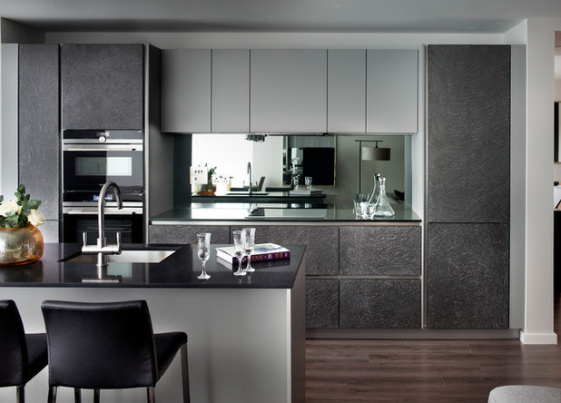 how high should you hang your upper kitchen cabinets?