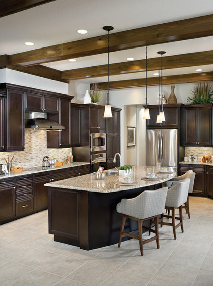 Eclectic Kitchen by Arthur Rutenberg Homes
