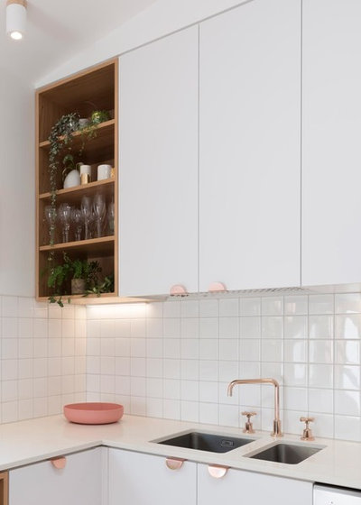 Scandinavian Kitchen by Drawing Room Architecture