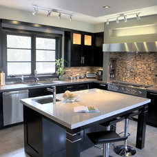 Contemporary Kitchen by Southport Cabinet Company