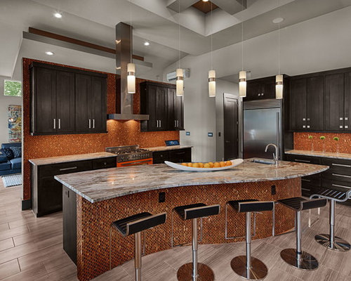 Zimbabwe gray granite kitchen design ideas renovations for Kitchen cabinets zimbabwe