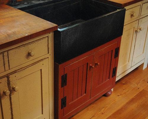 St. Louis Primitive Log Cabin Kitchen Bar Bathroom Vanities