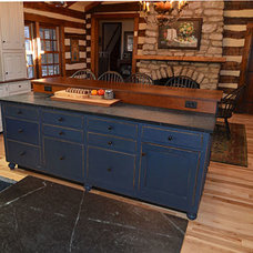 Farmhouse Kitchen by The Workshops of David T. Smith