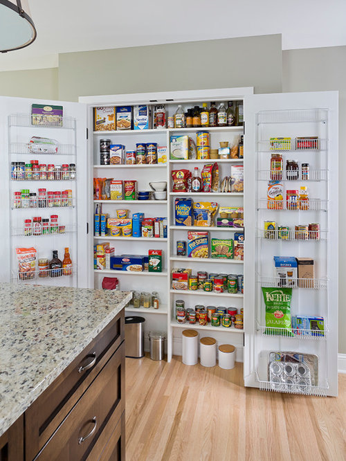 Shallow Pantry Home Design Ideas Pictures Remodel And Decor