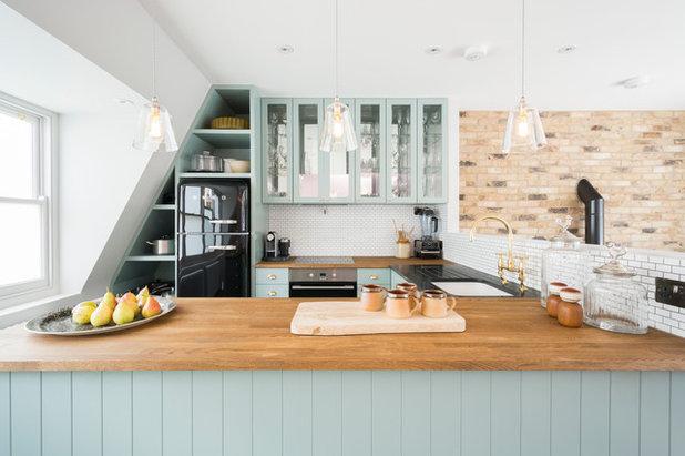 Transitional Kitchen by Domus Nova