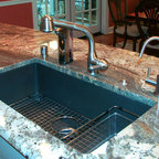 St. Matthews Area Customer - Blanco Silgranit sink and grid, Rohl faucet and filter faucet