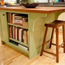 Transitional Kitchen by Urban Rebuilders