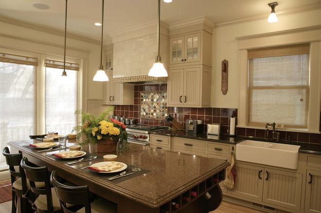 Traditional Kitchen by A. Sadowski Designs