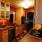 Buffalo New York Kitchen With Reclaimed Hardwoods Flooring