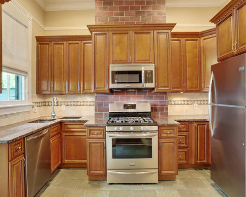 New Orleans Kitchen Design Ideas Renovations Photos With Slate Flooring