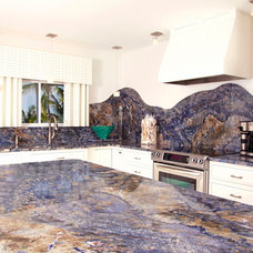 Tropical Kitchen by Virgin Islands Granite & Marble