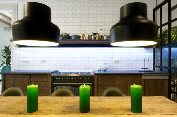 Eclectic Kitchen by Egue y Seta