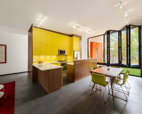 Brown And Yellow Home Design Ideas Pictures Remodel And