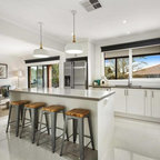 Toorak Residence Contemporary Kitchen Melbourne By