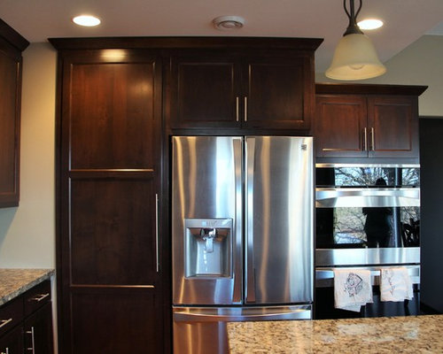 Staggered Kitchen Cabinets Ideas, Pictures, Remodel and Decor
