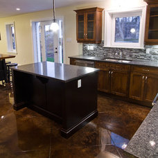 Traditional Kitchen by Millroi Construction Services