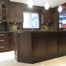 Transitional Kitchen by Signature Custom Cabinets