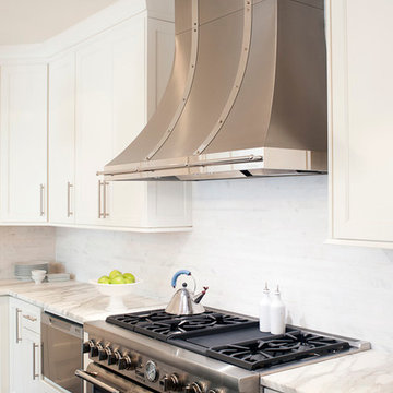Stainless Hood and Drop in Range in Haverford