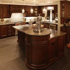 Eclectic Kitchen by Schnarr Craftsmen Inc