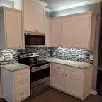 Cherry Shaker Kitchen Craftsman Kitchen Boston By