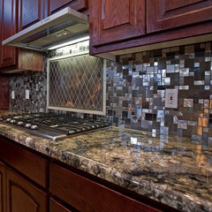 modern kitchen by Stockett Tile & Granite Company