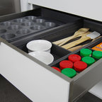 Stainless Steel Drawers and Roll-Out Shelves from Dura Supreme - Contemporary - Kitchen - los ...