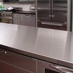Viscont White Granite Modern Kitchen Newark Elite Stone Importers