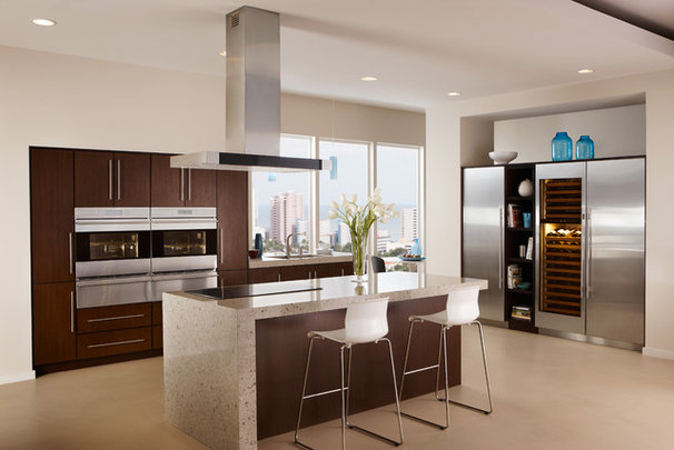 Contemporary Kitchen by Sub-Zero and Wolf