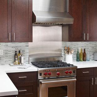 Stainless Steel Tile Backsplash Houzz