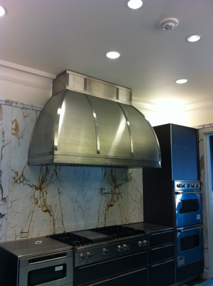 Contemporary Range Hoods And Vents by Seal Tex Metals